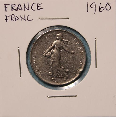 France 1960 Franc