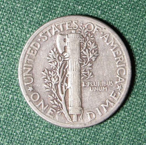 1936P Mercury Dime