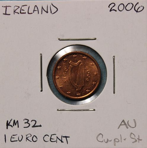Ireland 2006 1 euro cent