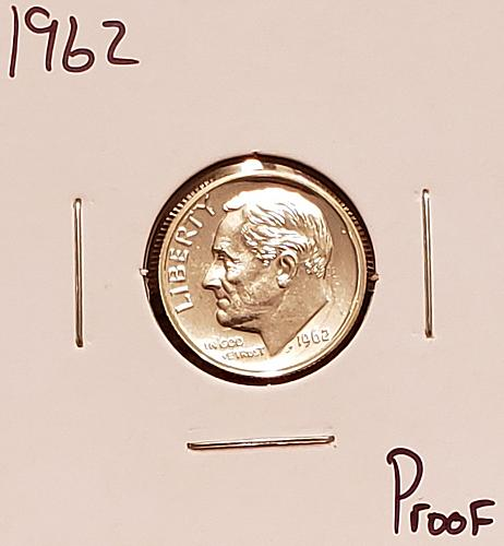 1962  Roosevelt Dime - Proof