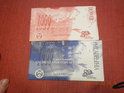 1999 P-D MINT SET Direct from the Mint in OGP