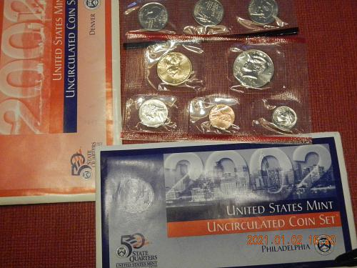 2002 P-D MINT SET Direct from the Mint in OGP