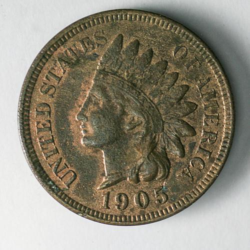 1905 Indian Head Penny AU