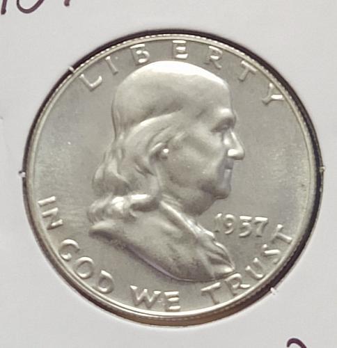 1957  Franklin Half Dollar - Proof