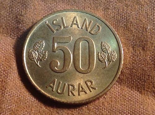 1971 Iceland 50 Aurar
