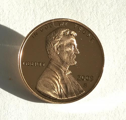 2009-S Proof Lincoln Bicentennial Cent Birth and Early Childhood  (0104-1)