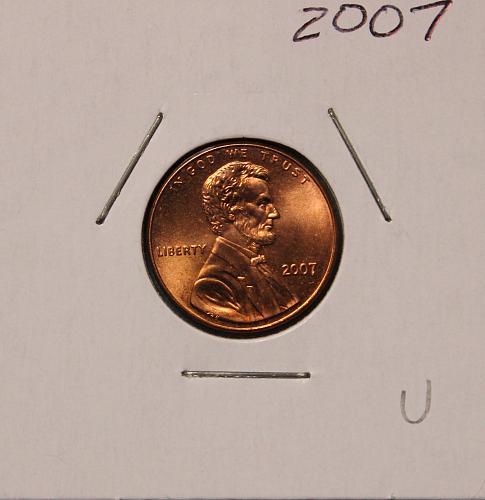 2007 P Lincoln Memorial Cent Small