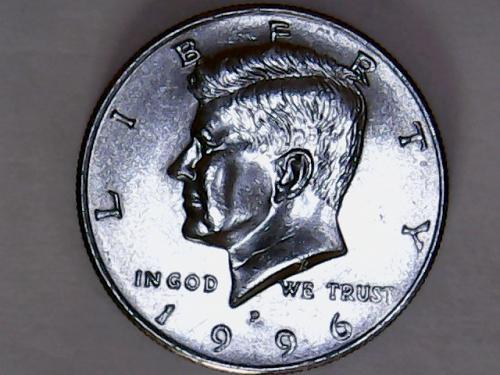 1996 P  Kennedy Half Dollars   *See Pictures*