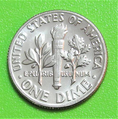 1973-D 10 Cents - Roosevelt Dime