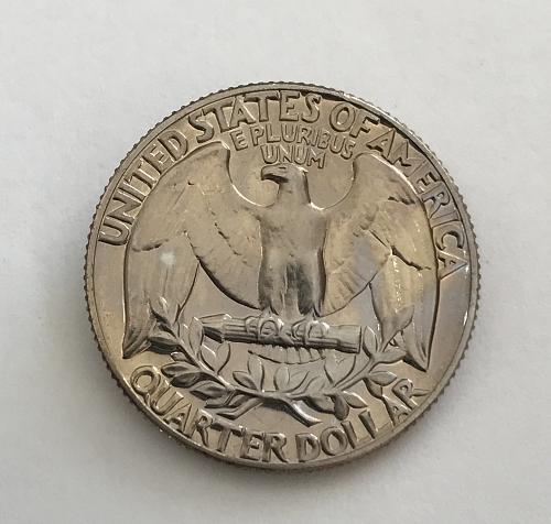 1971 S Clad Proof Washington Quarter (0104-5)