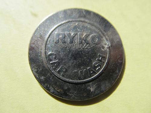 Ryko Car Wash Token