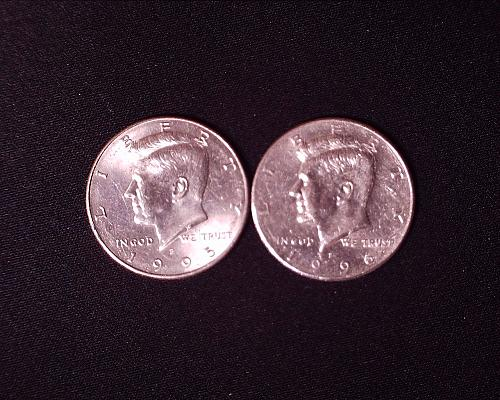 1995 P and 1996 P Kennedy Half Dollar