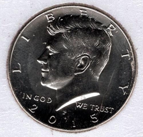 2015 P Kennedy Half Dollars -#5b
