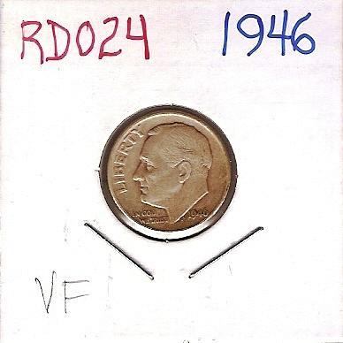 1946 Roosevelt Dime
