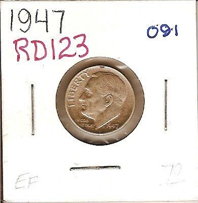 1947 Roosevelt Dime