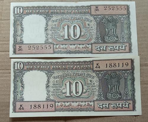 e)....India circulated  2 different..Notes