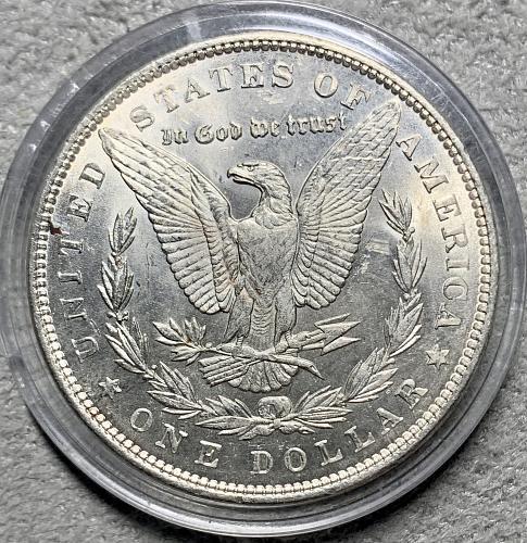 "1891-P High Grade Uncirculated/BU ""Scarce Date"" MS++ Morgan US Silver Dollar"