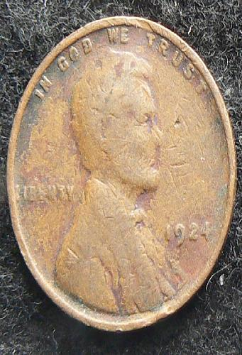 1924 P Lincoln Wheat Cent (G-4)