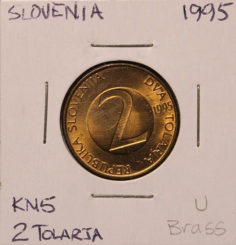 Slovenia 1995 2 Tolarja