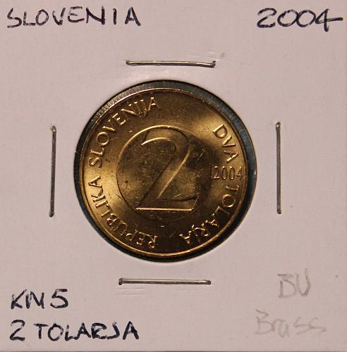 Slovenia 2004 2 Tolarja