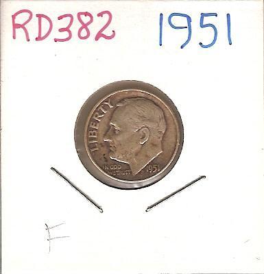 1951 Roosevelt Dime