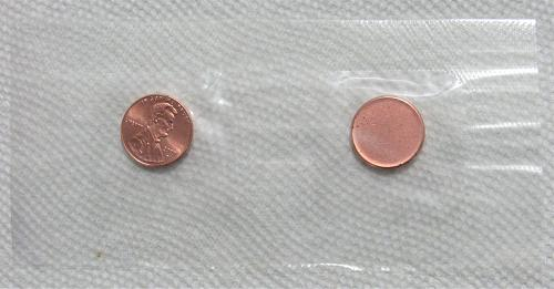 2009-D 1 Cent - Birth & Early Childhood Lincoln Bicentennial Cent & Cent Planche