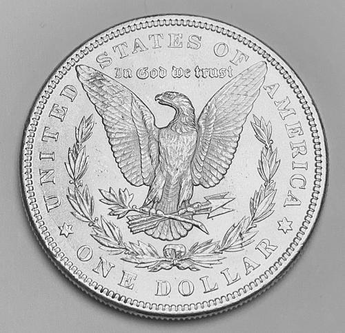 1885 Morgan Silver Dollar BU [MDL 107]