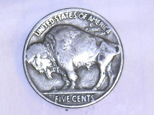 1935 P Buffalo Nickel.  See Pictures