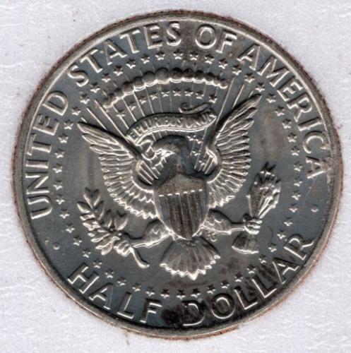 1971d Kennedy Half Dollar #2b