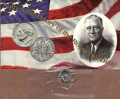 "1996 ""W"" Roosevelt Dime. Key date in the series."
