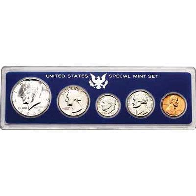 1967-P UNCIRCULATED SPECIAL MINT SET NO BOX **BEAUTIFUL COINS**  A-15-21