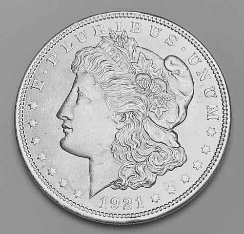 1921 Morgan Silver Dollar MS63 [MDL 544]