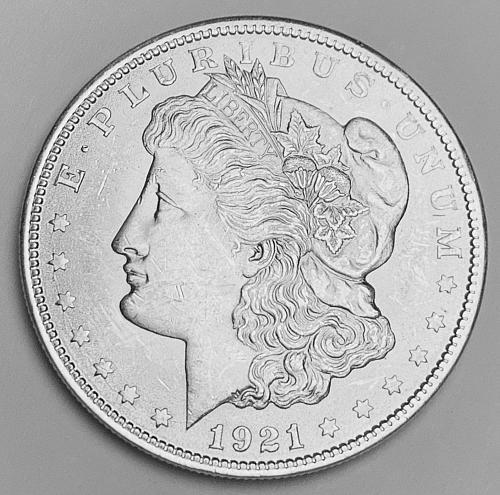 1921 Morgan Silver Dollar MS63 [MDL 545]