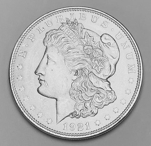 1921 Morgan Silver Dollar MS63 [MDL 549]