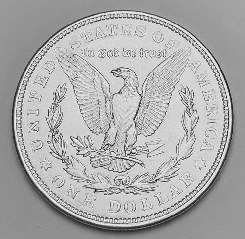 1921 Morgan Silver Dollar MS63 [MDL 550]