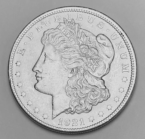 1921 Morgan Silver Dollar MS63 [MDL 555]
