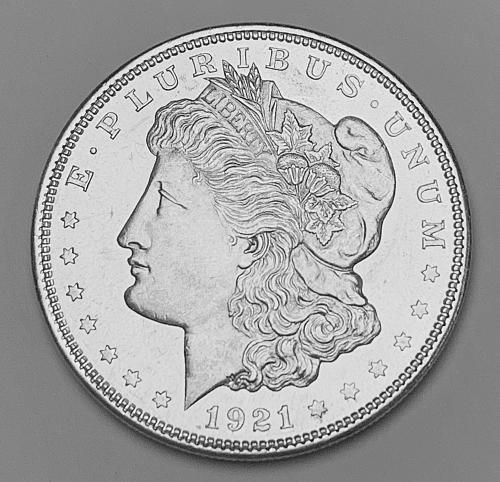 1921 Morgan Silver Dollar MS63 [MDL 556]