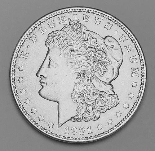 1921 Morgan Silver Dollar MS63 [MDL 558]
