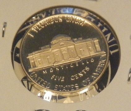 1981-S  Clear S Jefferson Nickel