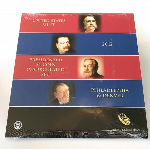2012 Presidential $1 Coin Uncirculated Set--US Mint SEALED (0112-4)