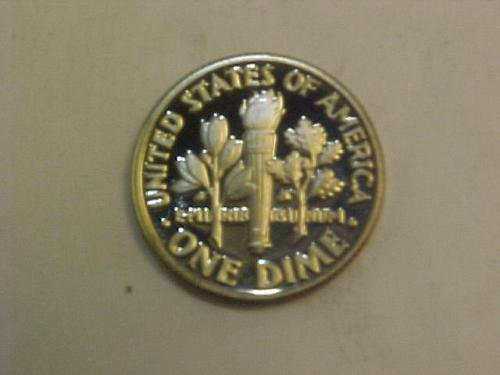 1983 S ROOSEVELT DIME CAMEO PROOF       ah84