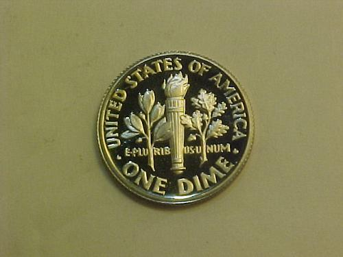1988 S ROOSEVELT DIME CAMEO PROOF       ah89