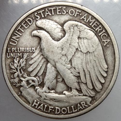1942 S Walking Liberty Half Dollar #16