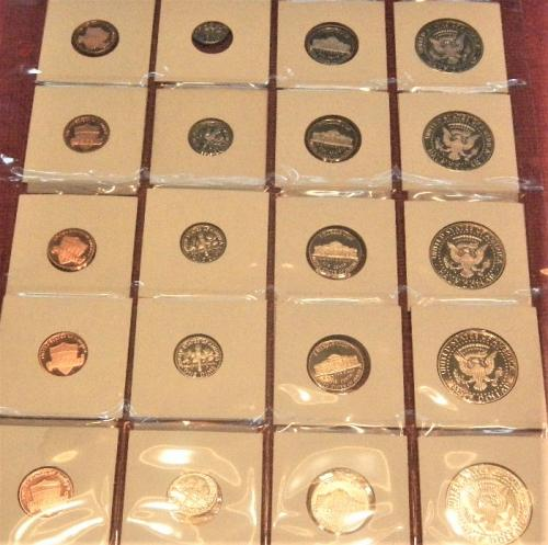 (10) YEARS  2010-S 2019 -S US Mint Proof Sets