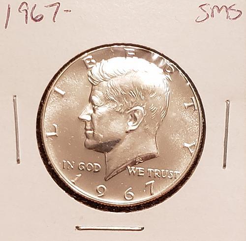 1967  Kennedy Half Dollar - SMS