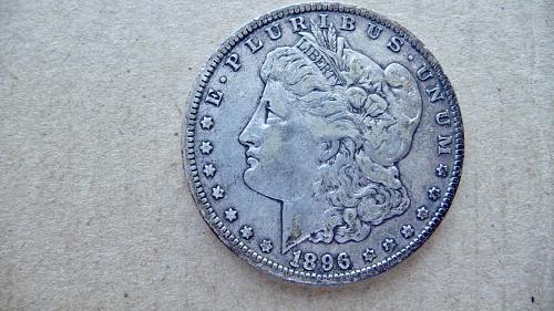 1896-O Morgan Dollar
