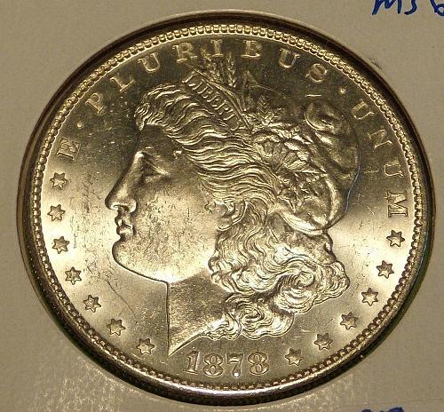 1978S Morgan Dollar  MS63  #$-1878S-1