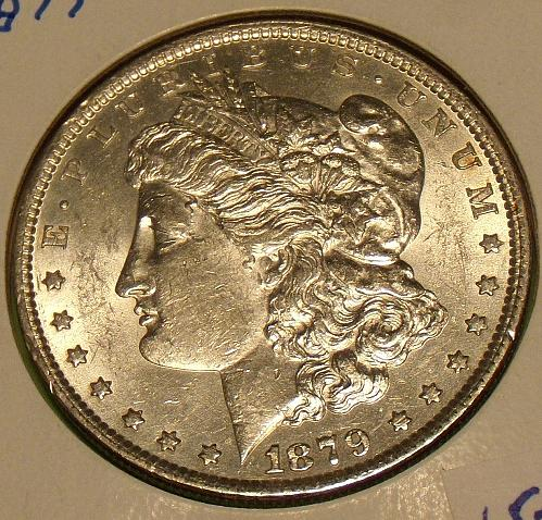 1879 Morgan Dollar  AU55  #$-1879-2