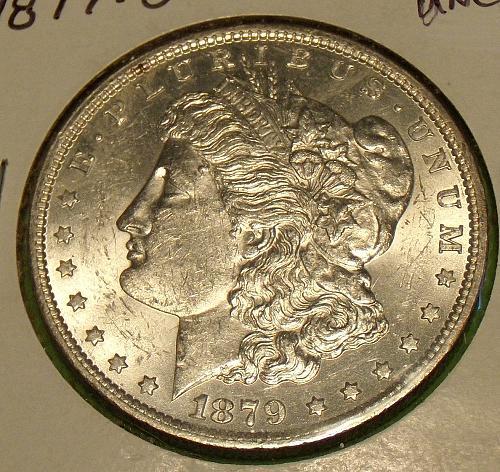 1879O Morgan Dollar  MS61  #$-1879O-2
