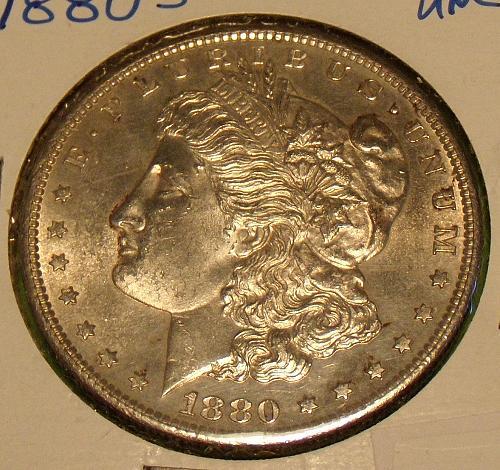 1880S Morgan Dollar  MS63  #$-1880S-1